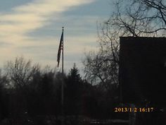 PT US FLAG ACROSS FROM COLLISTER STRIP MALL. STATE STREET. BOISE IDAHO.