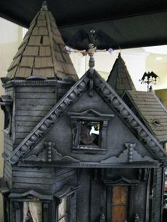 haunted dollhouse creative competition winner    http://www.facebook.com/dheminisusa for the full set!