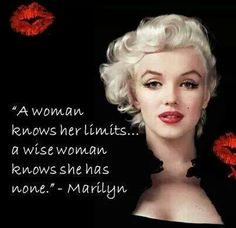 A woman knows....