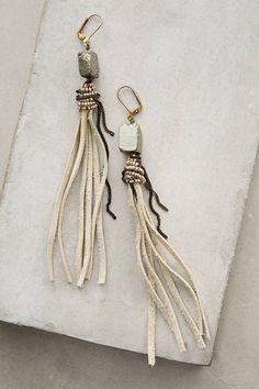 Erin Semel Tahlia Fringe Earrings