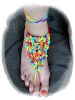 Zelfgemaakt !: Patroon blote voeten sandalen