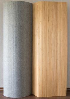 Paravent bambou brun 200 x 250 cm