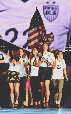 USWNT at the Taylor Swift concert
