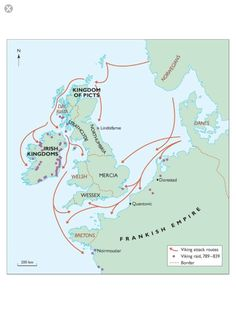 13.11 The Viking attacks from the late 8th early 9th centuries.