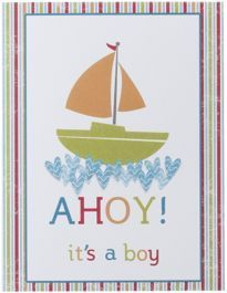 2012-13 Artisan Design Team Projects - Stampin' Connection--LOVE the water