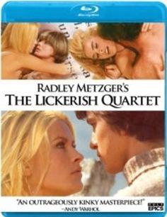 """""""The Lickerish Quartet"""" , original title (Exotika Ertika Psicotika : Italian title) , USA-I-wD '70  by Radley Metzger   /// Una coppia e il loro figlio """"Paolo Turco"""" credono di riconoscere la protagonista di un  filmetto in una ragazza acrobata  motociclista""""Silvana Venturelli """"  ; la invitatano nel proprio castello  e  giungono a rapporti erotici diversi con l'ospite. ///  bw   f>"""