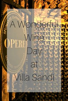 A Wonderful Wine Day at Villa Sandi - One of my favourite things in life is wine and Villa Sandi is a wine lovers dream. Located in Valdobbiadene near Treviso, an hour away from Venice in North-East Italy.  This is the region that has the best production of prosecco. This is because of the fertile soil and the climate. I agree the prosecco tasted fantastic!