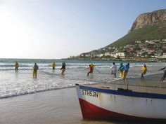 Fish Hoek Beach, Cape Town, South Africa. BelAfrique your personal travel planner - www.BelAfrique.com