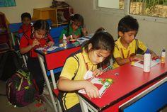 Glimpses of #ArtandCraft activities in our school #Fun #Energetic #Creativity