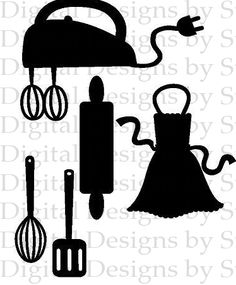 Kitchen baking svg