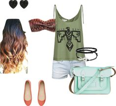 """""""warm weather outfit"""" by slegg2019 on Polyvore"""