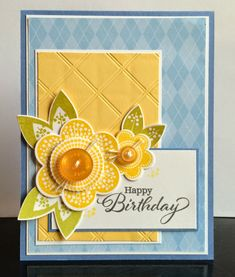 It's time for this week's Sweet Sunday Sketch Challenge . I used this week's sketch to create two cards using the s. Card Sketches, Paper Cards, Creative Cards, Flower Cards, Greeting Cards Handmade, Anniversary Cards, Scrapbook Cards, Homemade Cards, Stampin Up Cards
