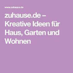 zuhause.de – Kreative Ideen für Haus, Garten und Wohnen