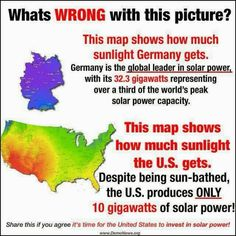 WHY? Because the powers that be make sooo much money off us paying utilities, ect., solar energy will never make it in America unless a few 'super elite' families die off or get shut down.