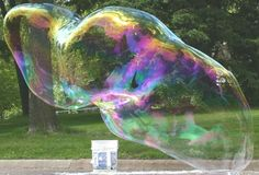 Giant Indestructible Bubbles! Making this for tomorrow night!
