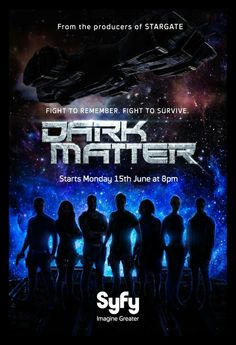 "Dark Matter - great new deep space show ... I really like it in the early episodes; it has the potential to become another ""Firefly"" ... from the producers of Stargate (Syfy)"
