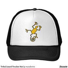 Tribal Lizard Trucker Hat