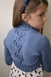 Ravelry: Ballet Slippers Shrug pattern by Hope Vickman