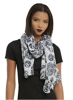 """Lightweight oblong viscose scarf from <i>Harry Potter</i> featuring an allover icons toss print design.<br><ul><li style=""""LIST-STYLE-POSITION: outside !important; LIST-STYLE-TYPE: disc !important"""">72"""" x 44""""</li><li style=""""LIST-STYLE-POSITION: outside !important; LIST-STYLE-TYPE: disc !important"""">100% polyester</li><li style=""""LIST-STYLE-POSITION: outside !important; LIST-STYLE-TYPE: disc !important"""">Hand wash; dry flat</li><li style=""""LIST-STYLE-POSITION: outside !important; LIST-STYLE-TYPE…"""
