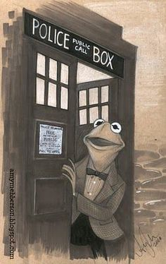 Muppets+ Doctor Who  I wonder if Disney will ever buy out the BBC