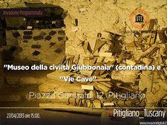 """""""Museo della civiltà Giubbonaia"""" (contadina) e alle """"Vie Cave"""" di Pitigliano (GR), conosciuta come la """"Piccola Gerusalemme"""". #invasioniDigitali il 27 Aprile appuntamento alle 15,00 Piazza Garibaldi 12 Invasore: Pitigliano Tuscany"""