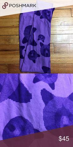 LuLaRoe Bear OS Leggings Unicorn! New With Tags! LuLaRoe Purple Bear OS Leggings! LuLaRoe Pants Leggings