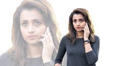 """Trisha chooses stories that give importance to her role and that way """"Garjanai"""" is a action sequence movie. #CineUpdates #ChennaiUngalKaiyil."""