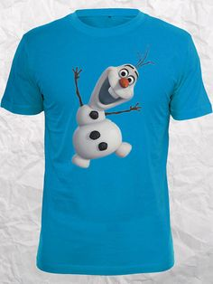 Olaf Frozen Best Seller on etsy Design Clothing for T shirt Mens and T shirt Ladies by Jamuran