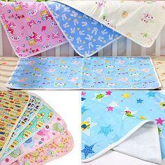 Wasserdichte Urin Mat Baumwolle Weiche Tuch-windel-baby-windel-abdeckung Pad Tuch Für Baby Neugeborenen Baby Bettwäsche Blätter Rosa Gelb Blau