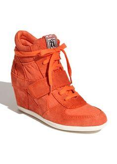 zapatos ash naranja