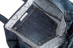 Farkkujen takataskusta sisätasku laukkuun + ohje http://www.haaraamo.fi/