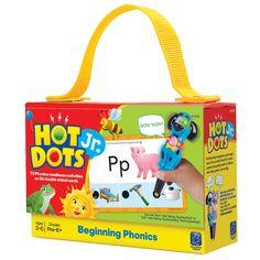 Hot Dots Jr. Cards Beginning Phonics