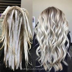 """Balayage❄️Blonde 