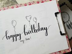 Brush lettering Happy birthday 2019 Brush lettering Happy birthday The post Brush lettering Happy birthday 2019 appeared first on Birthday ideas.