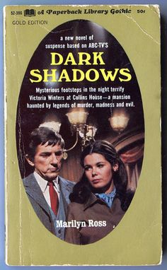 Dark Shadows Book Vampire Book Vintage Book by NapoleonsBooks.  I think I read almost ALL of this series when they came out!
