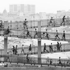 Rush hour traffic, workers commute between international city and Ras al Khor industrial area. #dubai #workers #noorimages #burnmagazine #hikaricreative #hartcollective #photoflair_bw #bw_curators #bnw_planet #bnw #bnw_demand #all_bnwshots #bnw_captures #bnw_rose #bnw_society #thevisualarchive #dubaiphotography #uaephotography #editorialphotography #fineartphotography #blackandwhite #photooftheday #bw_photooftheday #bnw_life #fineart_photobw #photography #fineartphoto #monoart_ #photo