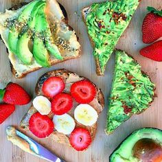 Breakfast for dinner is ALWAYS a good idea especially when it's #GlutenFree toast with avocado #  #  & peanut butter Keep tagging your GF pics with #glutenfreefollowme & I'll repost my faves here & on http://ift.tt/1x1VkvL : @_squeakyclean by jackieeaa