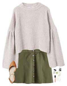 """""""skirt contest """" by elliegracee ❤ liked on Polyvore featuring MANGO, Bare Escentuals, Lana, Cartier, Clips, Monica Vinader, Gap and kaleysskirtcontest"""