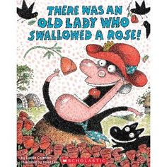Crazy Speech World: There Was an Old Lady Swallowed a Rose! Language Unit featuring activities for sequencing, comprehension, vocabulary, and writing for Valentines Day!