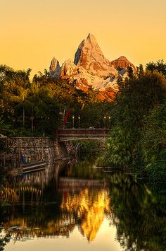 Expedition Everest sunset