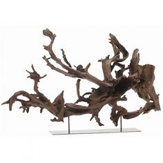 tree root sculptures by Liu DeLi
