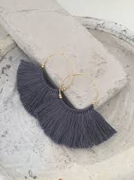 Risultati immagini per earring créoles diy