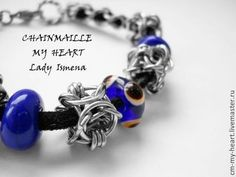 """Браслет """"Взгляд Пандоры"""" - chainmaille my heart,chainmaille,lady ismena"""