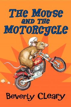 The Mouse and the Motorcycle by Beverly Cleary. Find it under j CLE.   Guided Reading Level - O