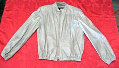 Vintage Womans Leather Jacket by photosfromtheattic on Etsy, $50.00