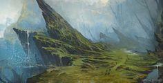 Grass spikes, Raphaëlle Deslandes on ArtStation at https://www.artstation.com/artwork/WYZJE