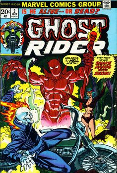 Cover for Ghost Rider (Marvel, 1973 series) #2 October 1973 _____ XI _____