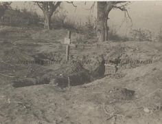 Mormânt în tranşee, s. Wwi, First World, Romania, World War, History, Painting, Outdoor, Outdoors, Painting Art