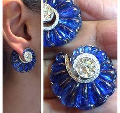 Bhagat earrings via @fd-gallery