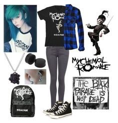 The Black Parade Cute Emo Outfits, Casual School Outfits, Edgy Outfits, Teen Fashion Outfits, Swag Outfits, Retro Outfits, Grunge Outfits, Outfits For Teens, Punk Fashion